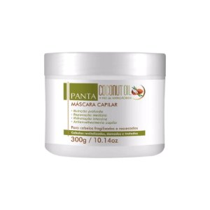 Panta Cosmética Coconut Oil Máscara Capilar 300g