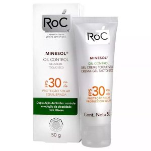 Protetor Solar Roc Minesol Oil Control Fps 30 50g