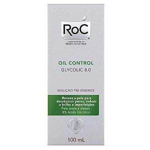Roc Oil Control Glycolic 8.0 Solução Pre Essence 100ml