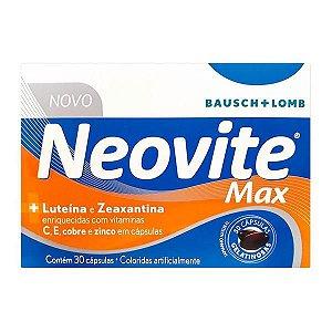 Neovite Max Com 30 Cápsulas Gelatinosas