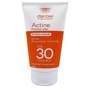 Actine Protetor Solar Fps 30 Antioleosidade 120ml Oil Free