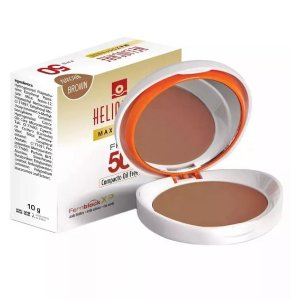 Heliocare Max Defense Pó Compacto Fps 50 Brown Oil Free