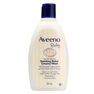 Aveeno Baby Sabonete Líquido Soothing Relief 354ml