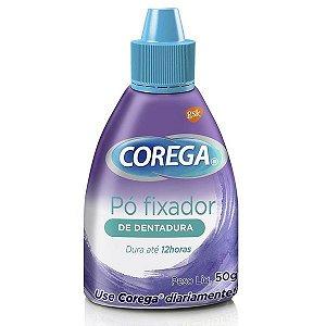 Fixador De Dentadura Corega Pó 50g