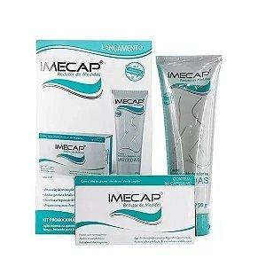 Kit Imecap Redutor De Medidas Creme 250g + 60 Cápsulas