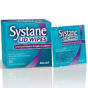 Systane Lid Wipes Com 30 Lenços Umedecidos