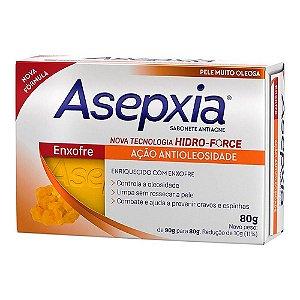 Asepxia Sabonete Em Barra Enxofre 80g