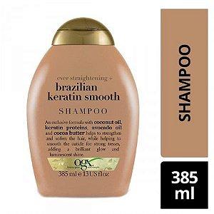 Ogx Shampoo Brazilian Keratin Smooth Anti-frizz 385ml