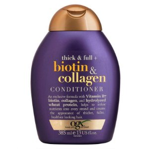 Ogx Condicionador Volumizador Biotin Collagen 385ml