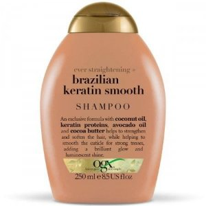 Ogx Shampoo Anti-frizz Brazilian Keratin Smooth 250ml