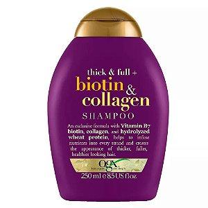 Ogx Shampoo Volumizador Biotin & Collagen 250ml