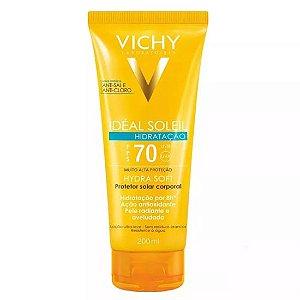 Protetor Solar Vichy Idéal Soleil Hidratação Fps 70 200ml