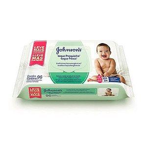 Lenços Umedecidos Johnsons Baby Toque Fresquinho 96 Unidades