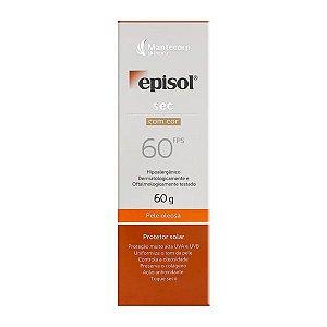 Protetor Solar Episol Sec Com Cor Fps 60 60g