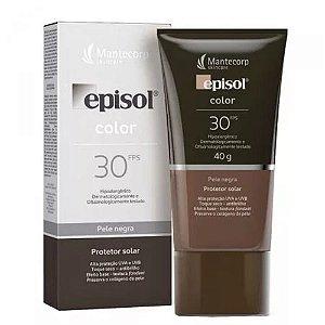 Protetor Solar Episol Color Pele Negra Fps 30 40g