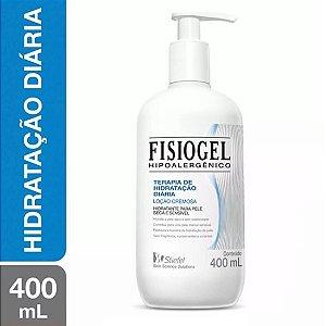 Fisiogel Terapia De Hidratação Diária Loção Cremosa 400ml