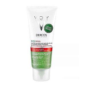Dercos Micro Peel Shampoo Anticaspa Esfoliante 200ml Vichy