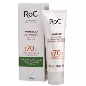 Protetor Solar Roc Minesol Oil Control Fps 70 50g