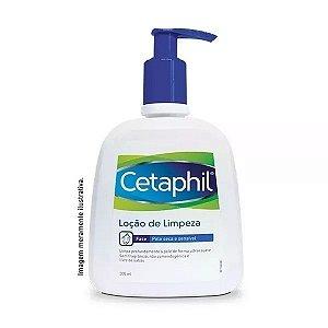 Cetaphil Loção De Limpeza 300ml Face Pele Seca E Sensível