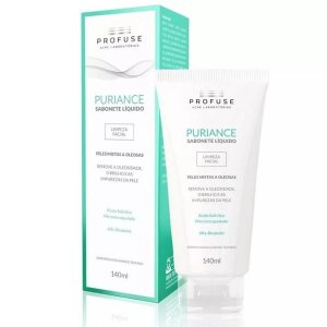 Puriance Sabonete Líquido Limpeza Facial 140ml Profuse