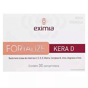 Exímia Fortalize Kera D Com 30 Comprimidos