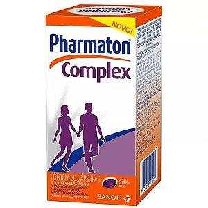 Pharmaton Complex Com 60 Cápsulas Novo