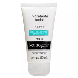 Hidratante Facial Oil Free Neutrogena Fps 15 50ml