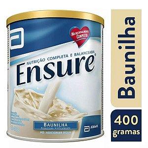 Ensure Suplemento Alimentar Em Pó Sabor Baunilha 400g