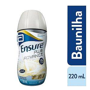 Ensure Plus Advance Suplemento Alimentar Sabor Baunilha 220ml