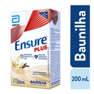 Ensure Plus Advance Suplemento Alimentar Sabor Baunilha 200ml