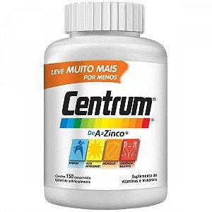 Centrum A a Zinco Com 150 Comprimidos