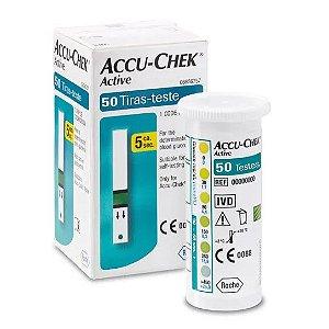 Accu-Chek Active com 50 Tiras Reagentes Promoção