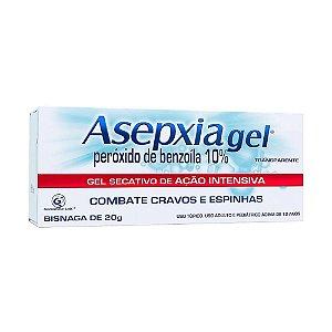 Asepxia Gel Antiacne Tratamento Tópico 10% 20mg
