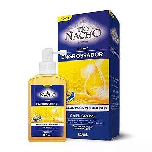 Tio Nacho Spray Capilar Engrossador Antiqueda 120g