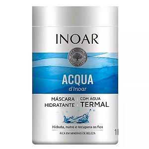 Inoar Acqua Dinoar Máscara Capilar Com Água Termal 1kg