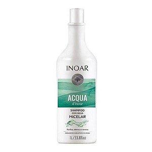 Inoar Acqua D'inoar Shampoo Com Água Micelar 1l