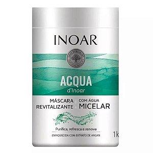 Inoar Acqua Dinoar Máscara Capilar Com Água Micelar 1kg