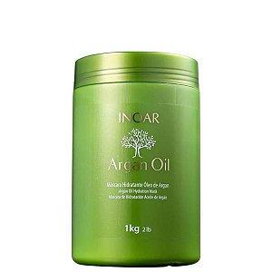 Inoar Argan Oil Máscara Hidratante De Tratamento 1kg