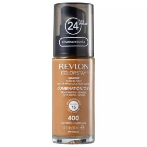 Base Revlon Colorstay 24h Pele Mista Olesosa 400 Caramel