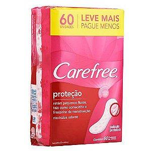 Carefree Proteção Protetor Diário Leve 60 Pague Menos Com Perfume