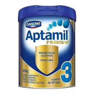 Aptamil 3 Premium Fórmula Infantil Leite Em Pó Danone 800g
