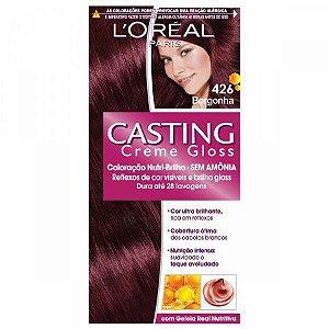 Loreal Tinta Capilar Casting Gloss Cor Borgonha Numero 426