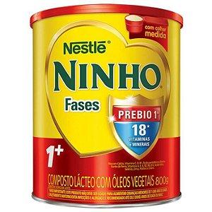 Ninho Fases 1+ Prebio Leite Em Pó 800g Nestlé