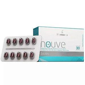 Nouve Biotin Com 30 Cápsulas Suplemento A Base De Vitaminas