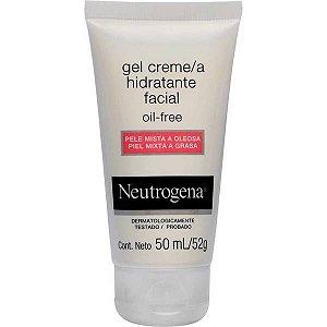 Neutrogena Hidratante Facial Oil Free Pele Mista A Oleosa 50ml