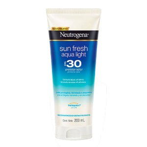 Neutrogena Sun Fresh Aqua Light Protetor Solar Fps30 200ml