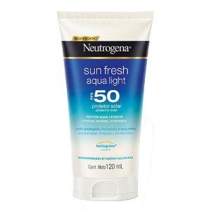 Neutrogena Sun Fresh Aqua Light Protetor Solar Fps50 120ml