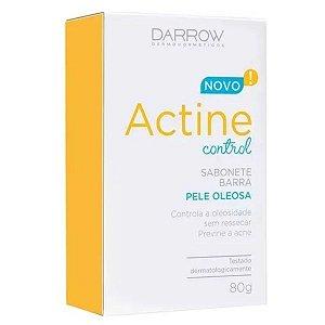 Sabonete Actine Control Pele Oleosa 80g Novo