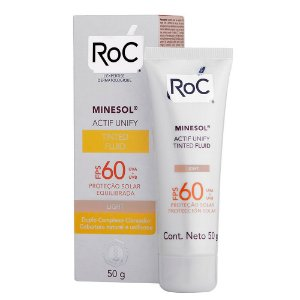 Roc Minesol Actif Unify Fps 60 Light 50g