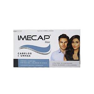 Imecap Hair Cabelos E Unhas Com 30 Cápsulas Divcom